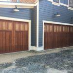 Newly Painted Garage Door