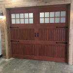Small Wooden Garage Door