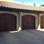 Spanish Style Garage Door 2