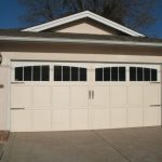Tan Garage Door