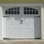 White Barn Garage Door