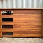 Wood Garage Door Install